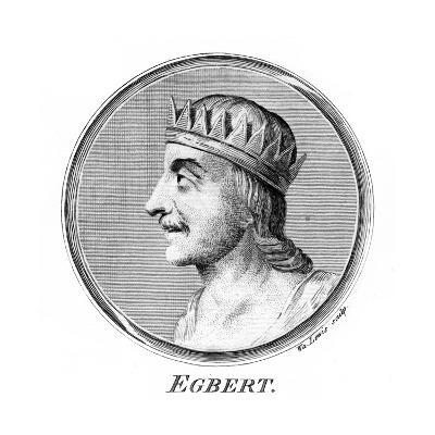 King Egbert of Wessex, First King of All England-W Lewis-Giclee Print