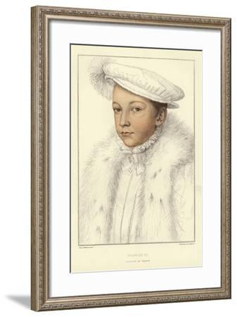 King Francis II of France-Hans Holbein the Younger-Framed Giclee Print