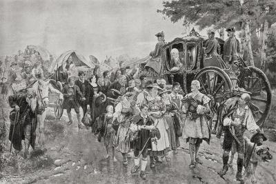 King Frederick William I of Prussia, 1920--Giclee Print
