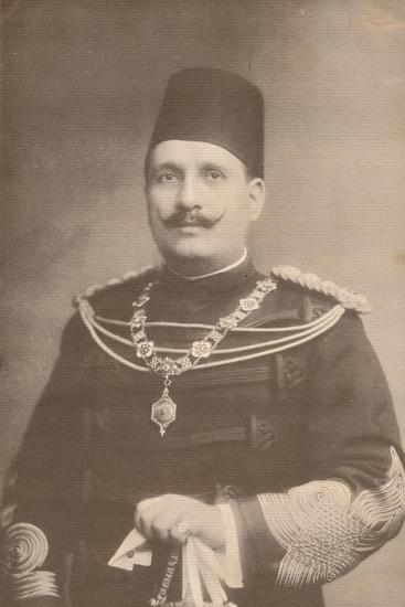 King Fuad I of Egypt, c1922-c1933-Unknown-Photographic Print