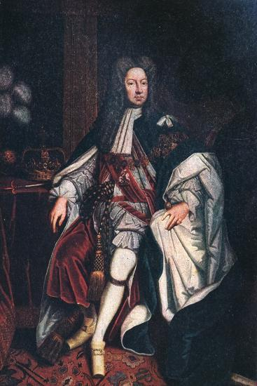 'King George II', 1744, (1911)-Unknown-Giclee Print