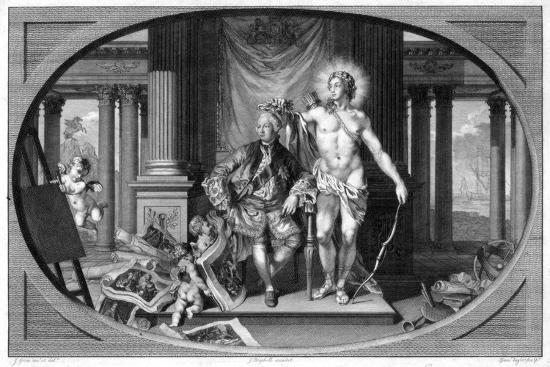 King George III (1738-182), 18th Century-Isaac Taylor-Giclee Print