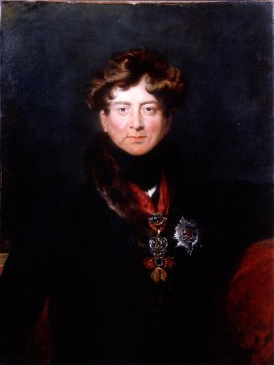 King George IV, 1820s-Thomas Lawrence-Giclee Print