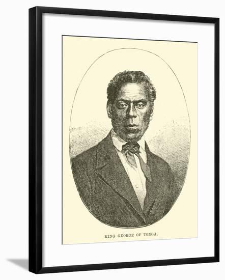 King George of Tonga--Framed Giclee Print