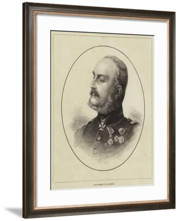 King George V of Hanover--Framed Giclee Print