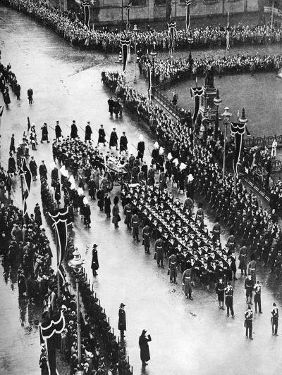 King George V's Funeral Procession Passing Out of Palace Yard, London, 1936--Giclee Print
