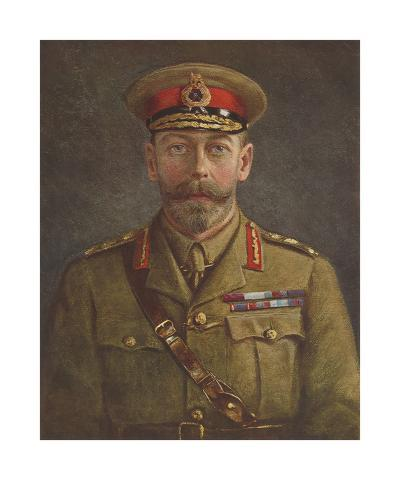 King George V-The Vintage Collection-Premium Giclee Print