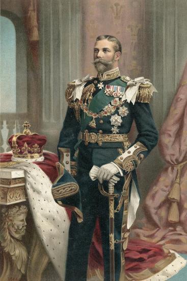 King George V--Giclee Print