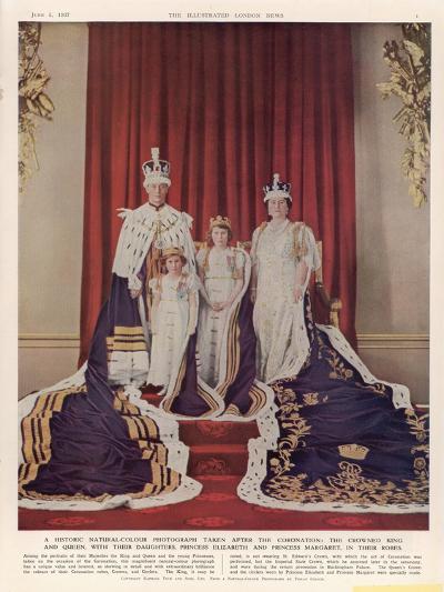 King George VI--Giclee Print