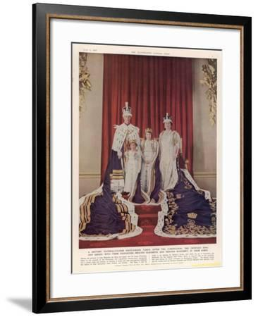 King George VI--Framed Giclee Print