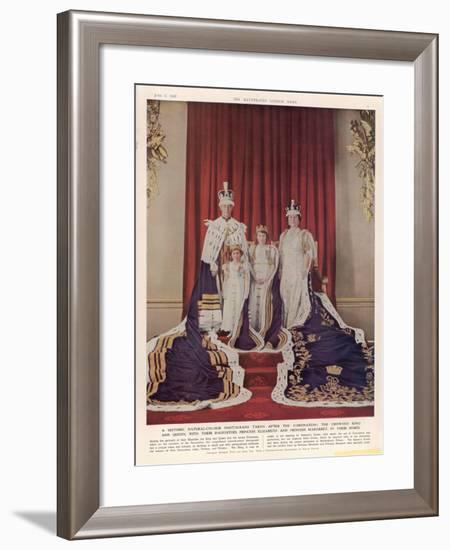 King George VI--Framed Giclee Print
