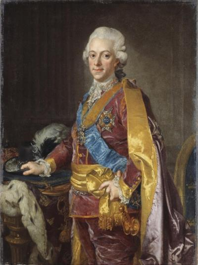King Gustav III of Sweden, 1780s-Lorens the Younger Pasch-Giclee Print