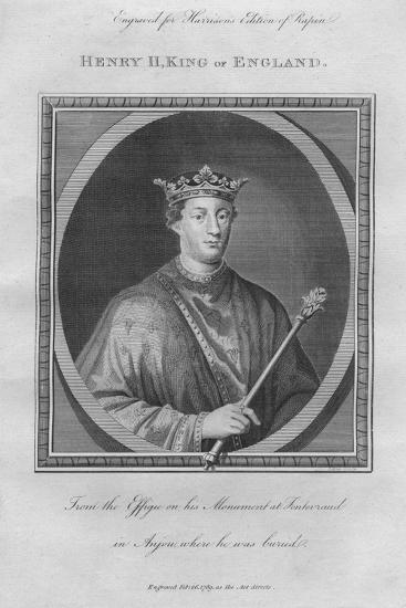 King Henry II, 1789--Giclee Print