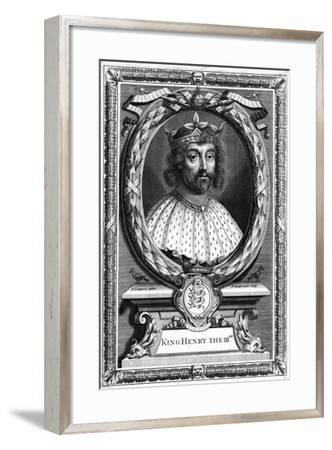 King Henry III of England-P Vanderbanck-Framed Giclee Print