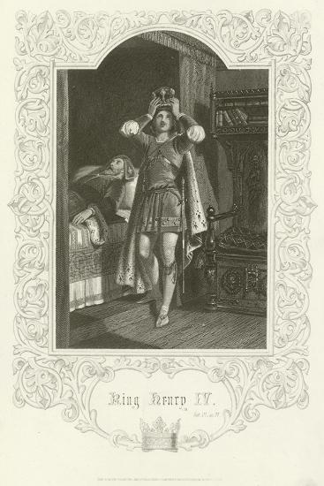 King Henry IV, Act IV, Scene IV-Joseph Kenny Meadows-Giclee Print