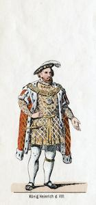 King Henry VIII of England, Costume Design for Shakespeare's Play, Henry VIII, 19th Century