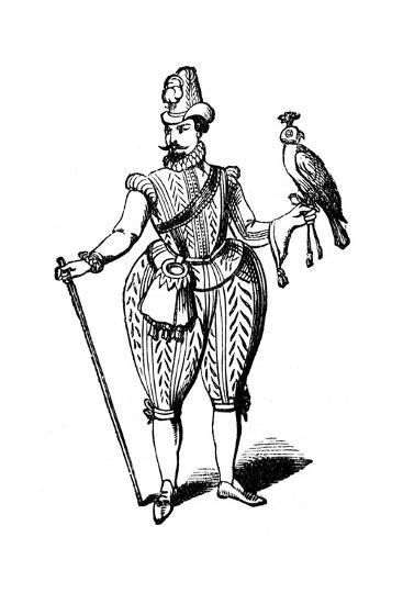 King James I, 1614--Giclee Print