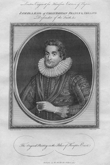King James I, 1787--Giclee Print