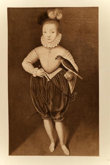 King James I of England and VI of Scotland as a Boy-Federico Zuccari-Giclee Print