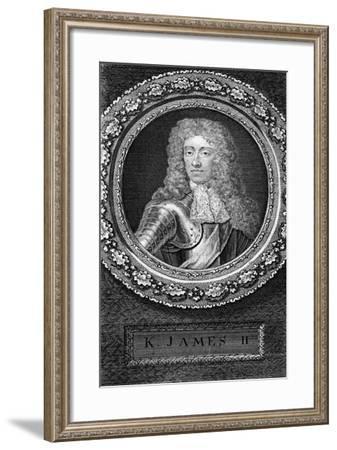 King James II of England-George Vertue-Framed Giclee Print