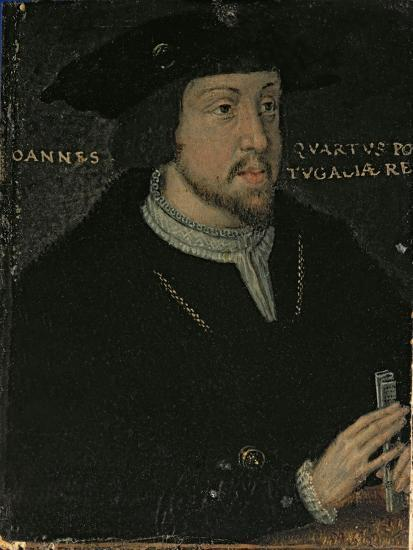King John I 'the Great', or 'the Bastard' of Portugal, late 16th century--Giclee Print