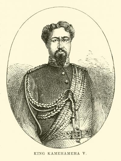 King Kamehameha V--Giclee Print