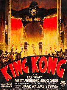 King Kong, (French poster art), 1933
