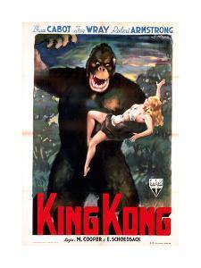 King Kong, Italian Poster Art, 1933