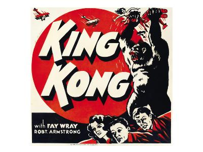 King Kong, Jumbo Window Card, 1933--Photo