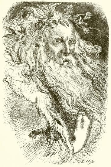 King Lear--Giclee Print