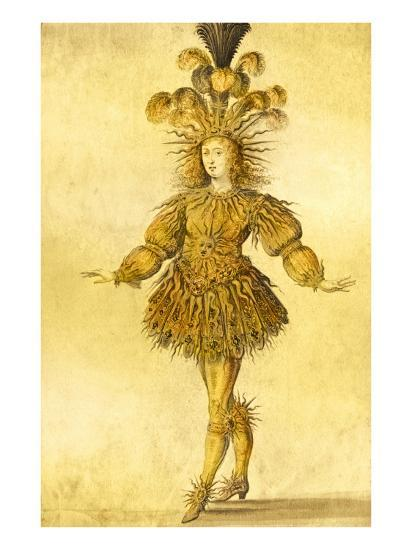King Louis Xiv Of France In The Costume Of The Sun King In The Ballet La Nuit 1653 Giclee Print French School Art Com