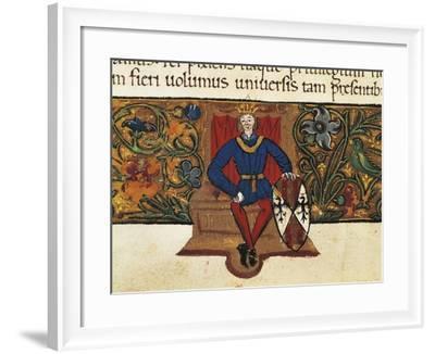 King Martin I--Framed Giclee Print
