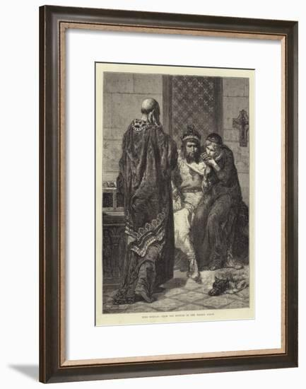 King Morvan, from the Picture in the French Salon--Framed Giclee Print