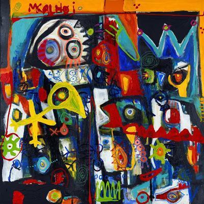 King of Birds-Martin Kalhoej-Art Print