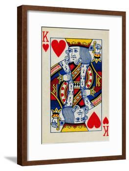 King of Hearts, 1925-Unknown-Framed Art Print