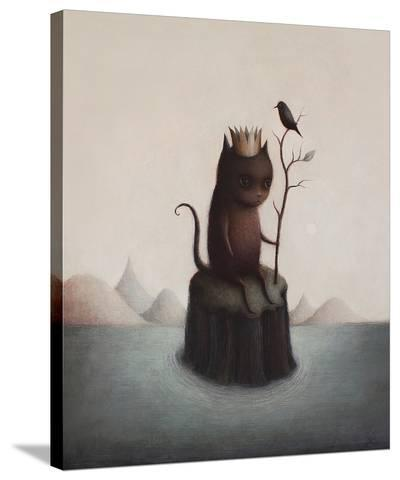King of the Black Isle-Paul Barnes-Stretched Canvas Print