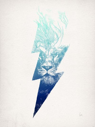 King Of The Clouds-David Fleck-Art Print