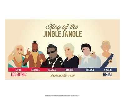 King of the Jingle Jangle-Stephen Wildish-Art Print