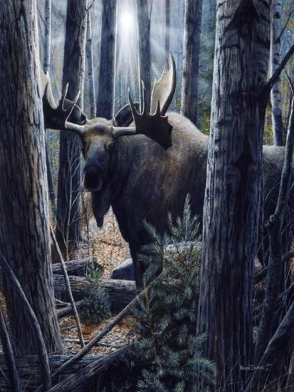 King of the Northwoods-Kevin Daniel-Art Print
