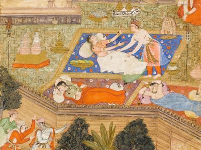 King Putraka in the Palace of the Beautiful Patali--Art Print