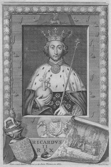 King Richard II, 1735-George Vertue-Giclee Print