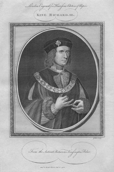 King Richard III, 1786--Giclee Print