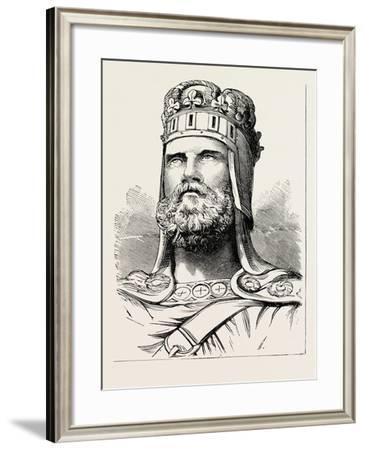 King Robert Bruce--Framed Giclee Print