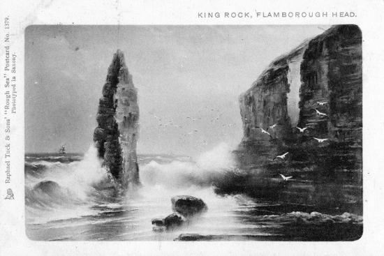 King Rock, Flamborough Head, East Riding, Yorkshire, 1903-Raphael Tuck-Giclee Print