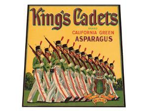 King's Cadets Brand California Green Asparagus