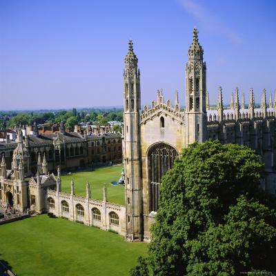 King's College Chapel, Cambridge, Cambridgeshire, England, UK-Roy Rainford-Photographic Print