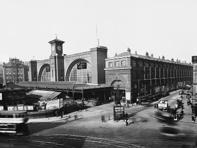 King's Cross Railway Station--Photographic Print