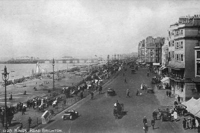 King's Road, Brighton, East Sussex, Early 20th Century--Giclee Print