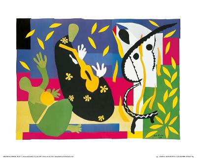 King's Sadness, c.1952-Henri Matisse-Art Print