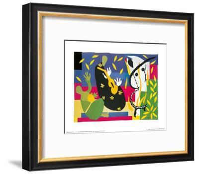 King's Sadness, c.1952-Henri Matisse-Framed Art Print